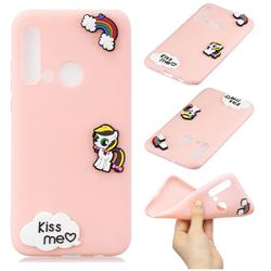 Kiss me Pony Soft 3D Silicone Case for Huawei P20 Lite(2019)