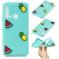 Watermelon Pineapple Soft 3D Silicone Case for Huawei P20 Lite(2019)
