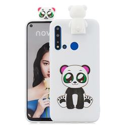 Panda Soft 3D Climbing Doll Stand Soft Case for Huawei P20 Lite(2019)