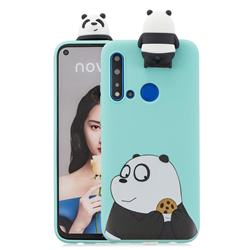 Striped Bear Soft 3D Climbing Doll Stand Soft Case for Huawei P20 Lite(2019)