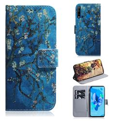 Apricot Tree PU Leather Wallet Case for Huawei P20 Lite(2019)