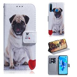 Pug Dog PU Leather Wallet Case for Huawei P20 Lite(2019)
