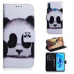 Sleeping Panda PU Leather Wallet Case for Huawei P20 Lite(2019)
