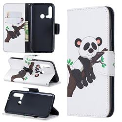 Tree Panda Leather Wallet Case for Huawei P20 Lite(2019)