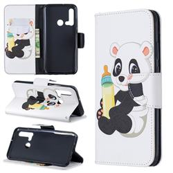 Baby Panda Leather Wallet Case for Huawei P20 Lite(2019)