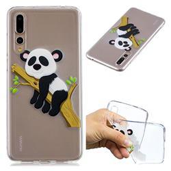 Tree Panda Super Clear Soft TPU Back Cover for Huawei P20 Pro
