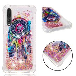 Seal Wind Chimes Dynamic Liquid Glitter Sand Quicksand Star TPU Case for Huawei P20 Pro