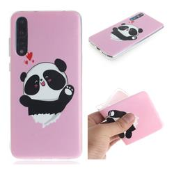 Heart Cat IMD Soft TPU Cell Phone Back Cover for Huawei P20 Pro