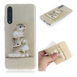 Three Squirrels IMD Soft TPU Cell Phone Back Cover for Huawei P20 Pro