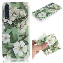 Watercolor Flower IMD Soft TPU Cell Phone Back Cover for Huawei P20 Pro