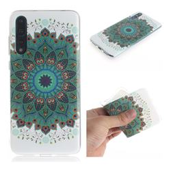 Peacock Mandala IMD Soft TPU Cell Phone Back Cover for Huawei P20 Pro