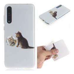 Cat and Tiger IMD Soft TPU Cell Phone Back Cover for Huawei P20 Pro