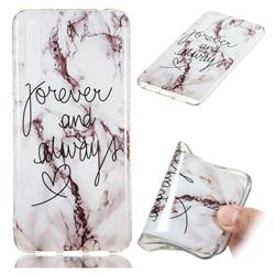 Forever Soft TPU Marble Pattern Phone Case for Huawei P20 Pro