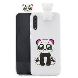 Panda Soft 3D Climbing Doll Stand Soft Case for Huawei P20 Pro