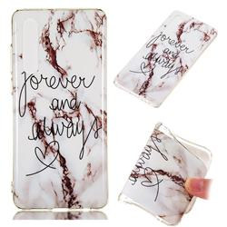 Forever Soft TPU Marble Pattern Phone Case for Huawei P30