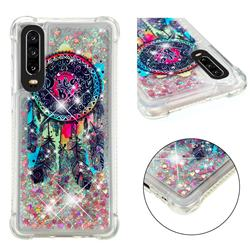 Seal Wind Chimes Dynamic Liquid Glitter Sand Quicksand Star TPU Case for Huawei P30