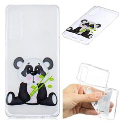 Bamboo Panda Clear Varnish Soft Phone Back Cover for Huawei P30