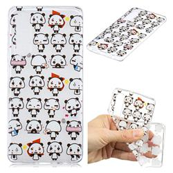 Mini Panda Clear Varnish Soft Phone Back Cover for Huawei P30