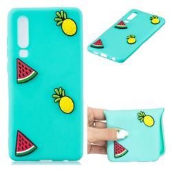 Watermelon Pineapple Soft 3D Silicone Case for Huawei P30