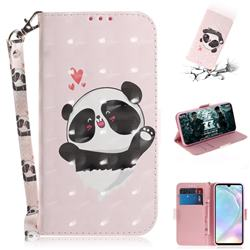 Heart Cat 3D Painted Leather Wallet Phone Case for Huawei P30