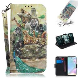 Beast Zoo 3D Painted Leather Wallet Phone Case for Huawei P30