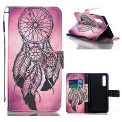 Wind Chimes Leather Wallet Phone Case for Huawei P30
