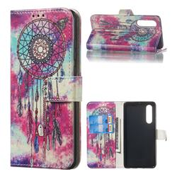 Butterfly Chimes PU Leather Wallet Case for Huawei P30