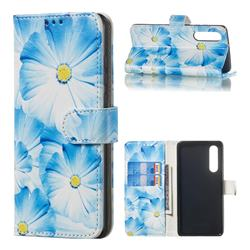 Orchid Flower PU Leather Wallet Case for Huawei P30