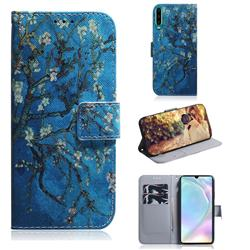 Apricot Tree PU Leather Wallet Case for Huawei P30