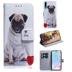 Pug Dog PU Leather Wallet Case for Huawei P30