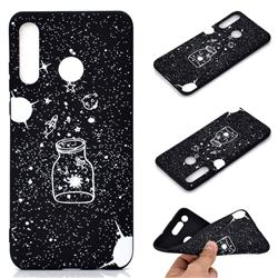 Travel The Universe Chalk Drawing Matte Black TPU Phone Cover for ...