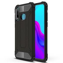 King Kong Armor Premium Shockproof Dual Layer Rugged Hard Cover for Huawei P30 Lite - Black Gold