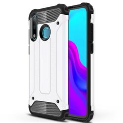 King Kong Armor Premium Shockproof Dual Layer Rugged Hard Cover for Huawei P30 Lite - White
