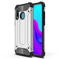 King Kong Armor Premium Shockproof Dual Layer Rugged Hard Cover for Huawei P30 Lite - Technology Silver