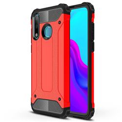 King Kong Armor Premium Shockproof Dual Layer Rugged Hard Cover for Huawei P30 Lite - Big Red