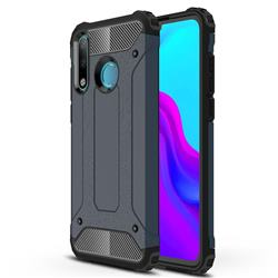King Kong Armor Premium Shockproof Dual Layer Rugged Hard Cover for Huawei P30 Lite - Navy