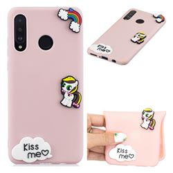 Kiss me Pony Soft 3D Silicone Case for Huawei P30 Lite