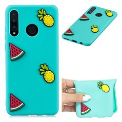 Watermelon Pineapple Soft 3D Silicone Case for Huawei P30 Lite