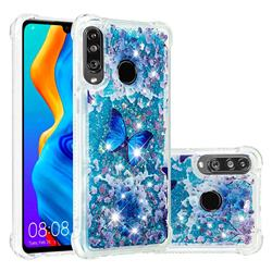 Flower Butterfly Dynamic Liquid Glitter Sand Quicksand Star TPU Case for Huawei P30 Lite