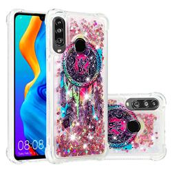 Seal Wind Chimes Dynamic Liquid Glitter Sand Quicksand Star TPU Case for Huawei P30 Lite