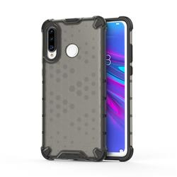 Honeycomb TPU + PC Hybrid Armor Shockproof Case Cover for Huawei P30 Lite - Gray