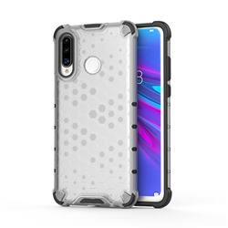 Honeycomb TPU + PC Hybrid Armor Shockproof Case Cover for Huawei P30 Lite - Transparent