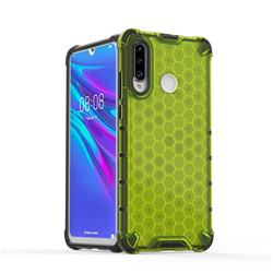 Honeycomb TPU + PC Hybrid Armor Shockproof Case Cover for Huawei P30 Lite - Green