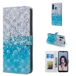 Sea Sand 3D Painted Leather Phone Wallet Case for Huawei P30 Lite