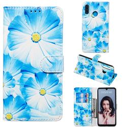 Orchid Flower PU Leather Wallet Case for Huawei P30 Lite