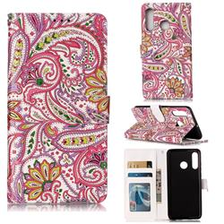 Pepper Flowers 3D Relief Oil PU Leather Wallet Case for Huawei P30 Lite
