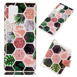 Rainforest Soft TPU Marble Pattern Phone Case for Huawei P30 Pro