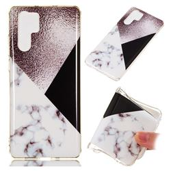 Black white Grey Soft TPU Marble Pattern Phone Case for Huawei P30 Pro