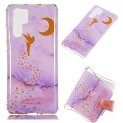 Elf Purple Soft TPU Marble Pattern Phone Case for Huawei P30 Pro