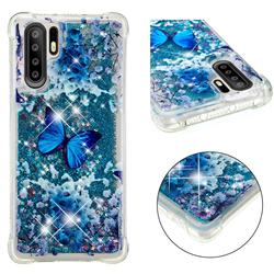 Flower Butterfly Dynamic Liquid Glitter Sand Quicksand Star TPU Case for Huawei P30 Pro